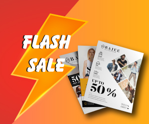 Flash Sale Digital Leaflet